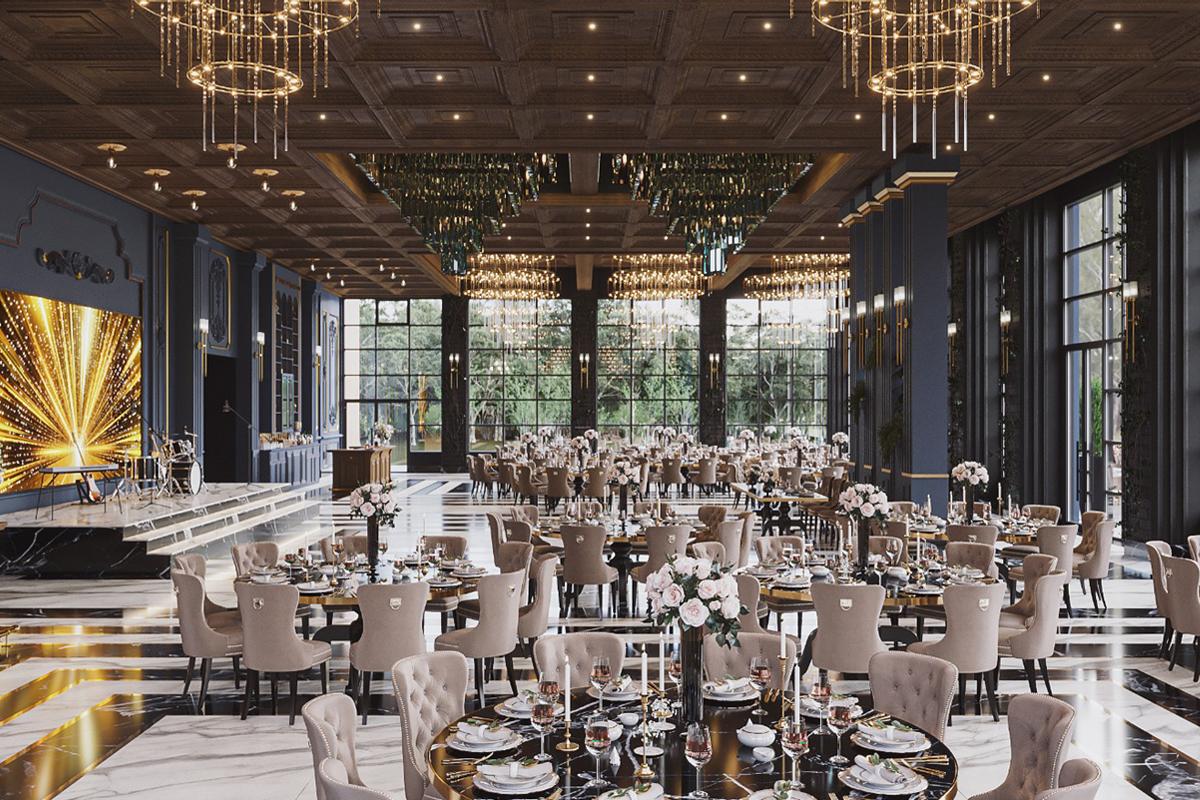 Salon de evenimente Granduelle by Ramatuelle